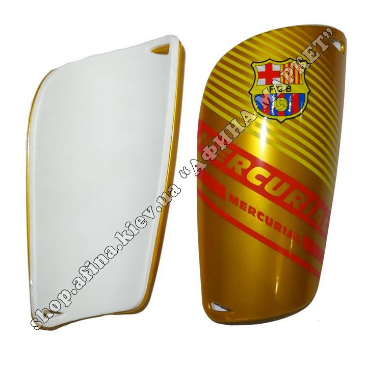 Щитки футбольные Барселона Gold Mercurial (2240)