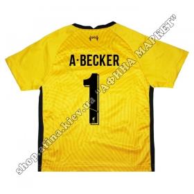 Нанесение имени, фамилии, номера на форму Ливерпуль Goalkeeper 2021