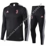 Футбольный костюм для детей Ювентус 2020 Black Adidas