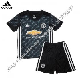 Детская форма Манчестер Юнайтед 2017-2018 Adidas выездная (2295)