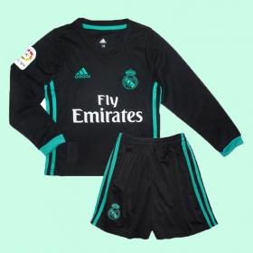 Детская футбольная форма Реал Мадрид с длинным рукавом Adidas 2018 выездная