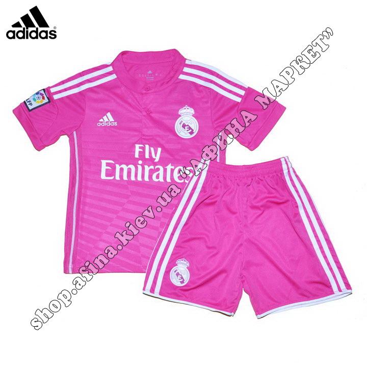 Детская форма Реал Мадрид Adidas 2014-2015 выездная (1383)