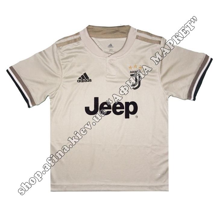 Детская футбольная форма Ювентус 18-19 Adidas выездная M