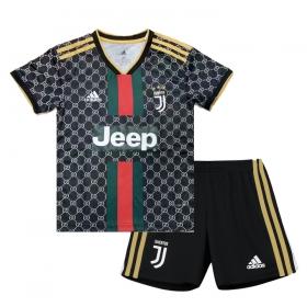 Форма Ювентуса 19-20 для детей Adidas Black