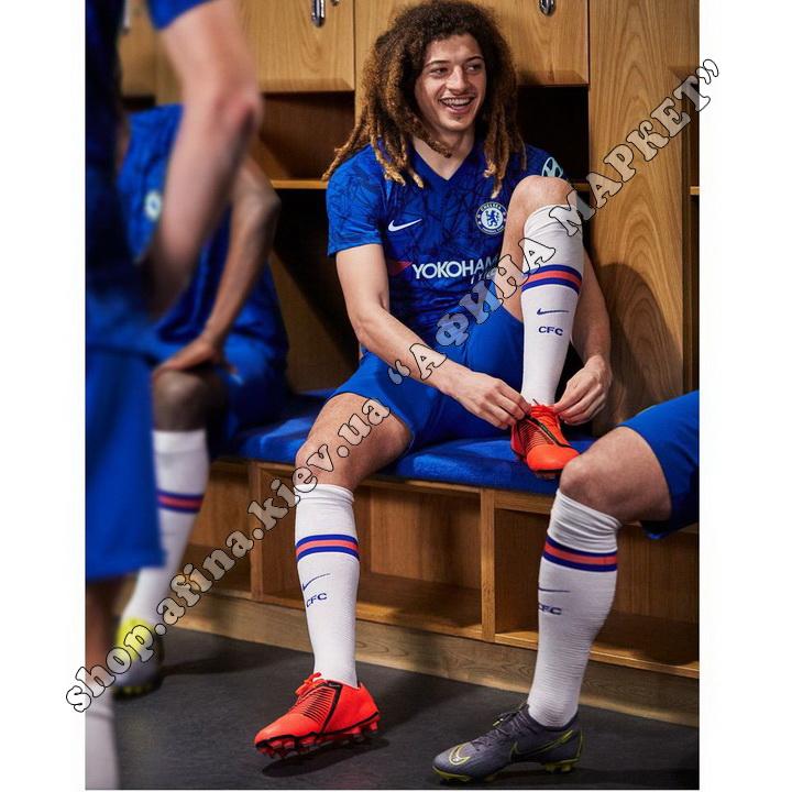 Детские футбольные гетры Челси 2019-2020 домашние