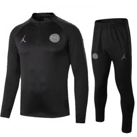 Детский футбольный костюм ПСЖ Air Jordan Black 2019