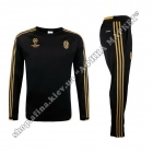 Спортивний костюм футбольний Ювентус для дітей Adidas Black/Gold
