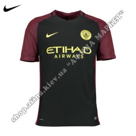 Футболка Nike Манчестер Сити 2016-2017 выездная