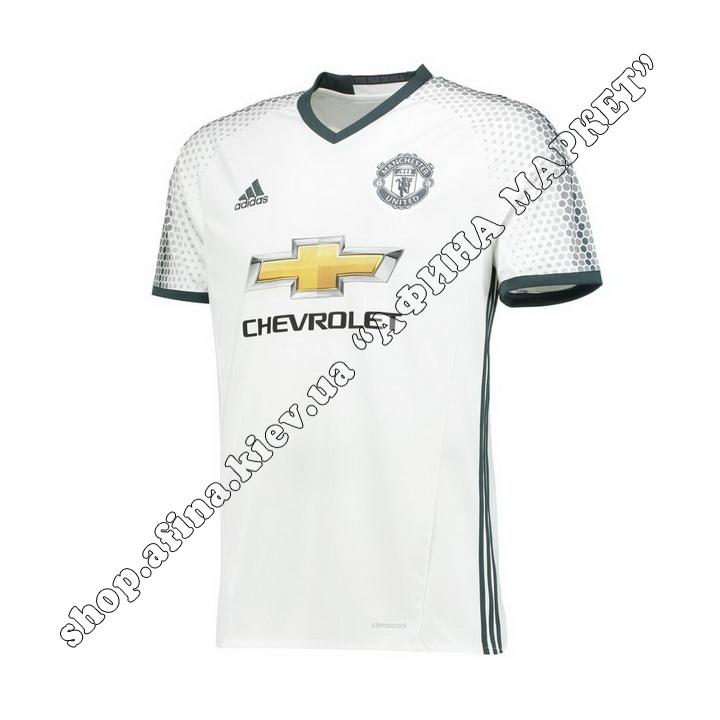 Футболка Манчестер Юнайтед 2016-2017 Adidas резервная (1957)