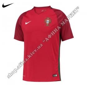 Футболка Португалии 2016-2017 Nike домашняя