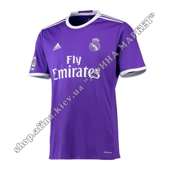 Футболка Реал Мадрид 2016-2017 Adidas выездная (19081)