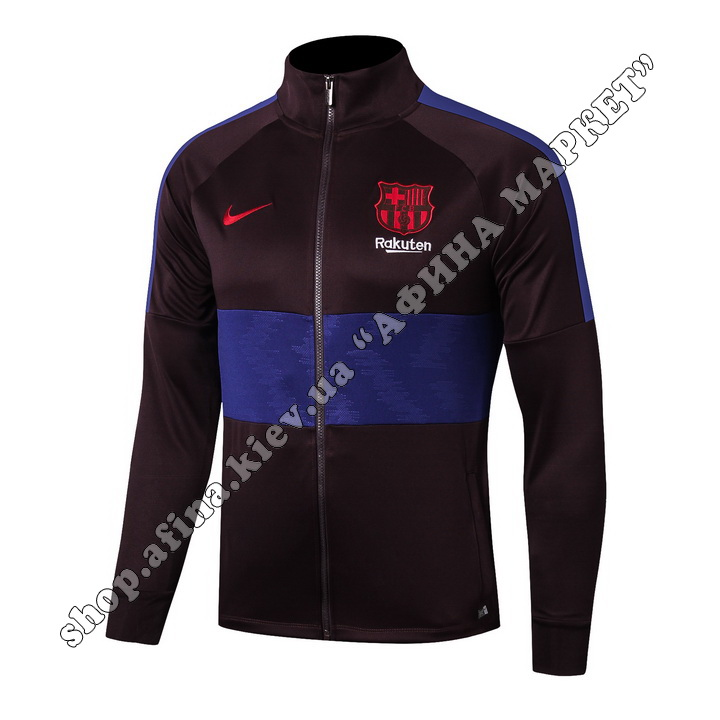 Футбольный костюм для детей FC Barcelona Jacket Nike 2019-2020