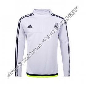 Кофта футбольная Adidas Реал Мадрид Training Sweatshirt White