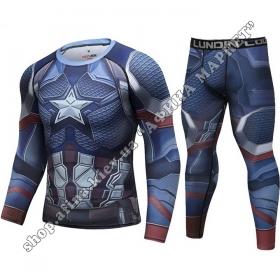 комплект Captain America Cody Lundin Marvel Adult