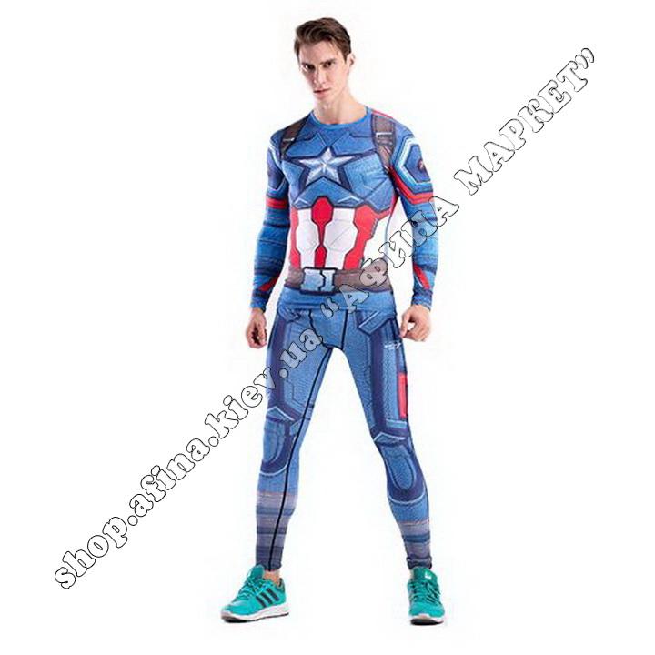 комплект Captain America Cody Lundin Marvel Adult 110060
