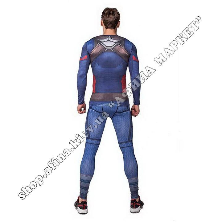 комплект Captain America Cody Lundin Marvel Adult 110061