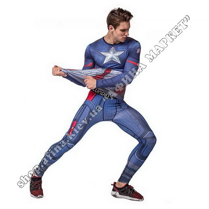 комплект Captain America Cody Lundin Marvel Adult 110062