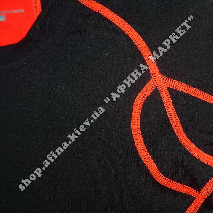 Термобілизна дитяча для футболу SPORT комплект Black  107667