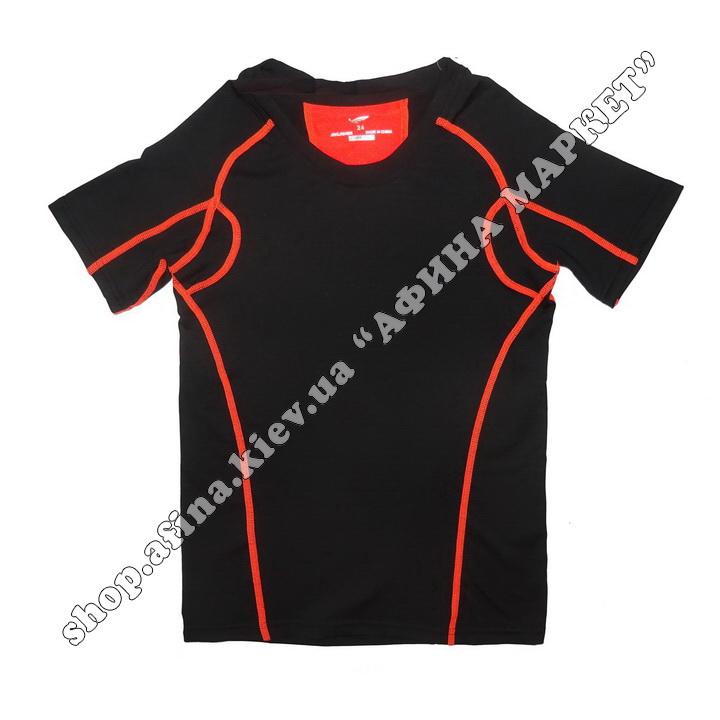 Термобілизна дитяча для футболу SPORT комплект Black  107665