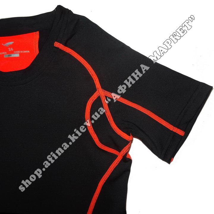 Термобілизна дитяча для футболу SPORT комплект Black  107666