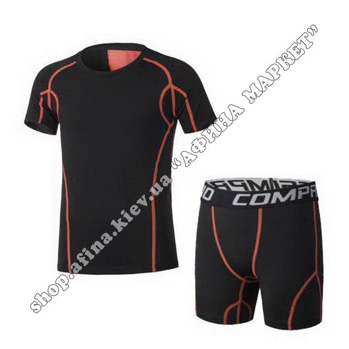 Термобілизна дитяча для футболу SPORT комплект Black
