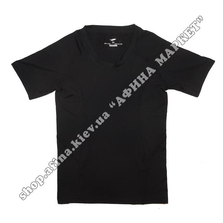 Термобілизна дитяча для футболу SPORT комплект Black  107624