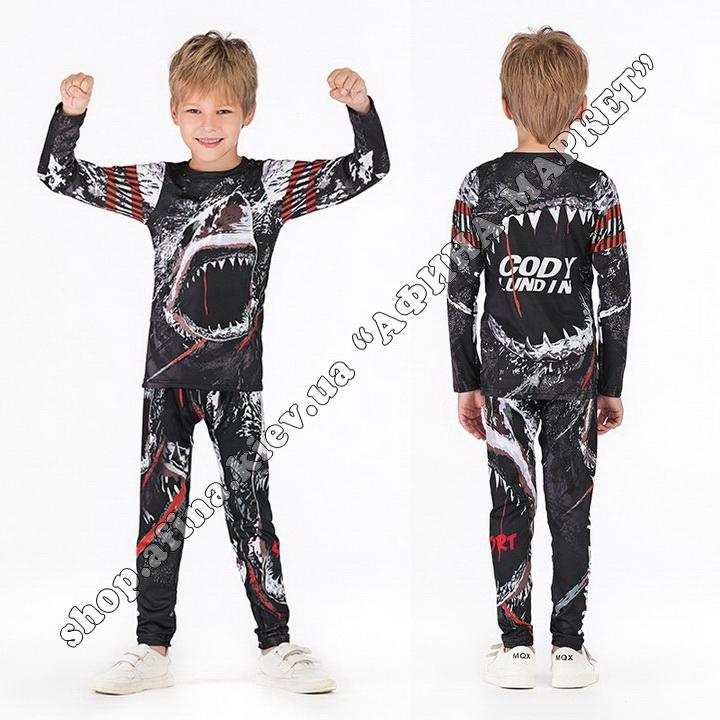 комплект Shark Cody Lundin Venum Black Kids
