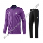 Костюм футбольний Реал Мадрид Adidas Presentation Tracksuit 2017 Purple