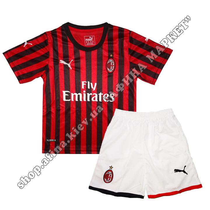 Милан форма 2019-2020 домашняя Puma XL