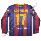 Нанесение на форму Барселона 2020/2021