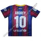 Нанесення прізвища, імені та номера на форму Барселона 2021
