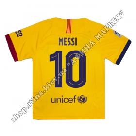 Нанесение на футболку Барселона 2020 Away