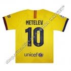 Нанесення імені, прізвища та номера на форму Барселона 2020 Away