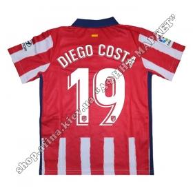 Нанесение имени, фамилии, номера на форму Атлетико Мадрид 2021