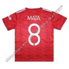 Нанесение имени, фамилии, номера, Манчестер Юнайтед 2021 Home