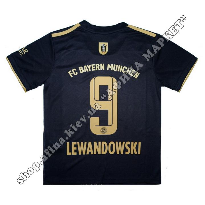 Нанесення імені, прізвища, номера на форму Баварія Мюнхен 2021-2022