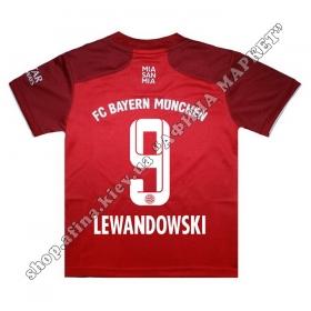 Нанесение имени, фамилии, номера на форму Бавария Мюнхен 2022 Home