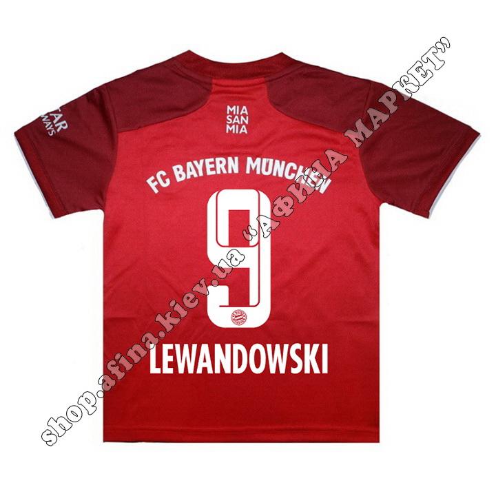 Нанесення імені, прізвища, номера на форму Баварія Мюнхен 2022 Home
