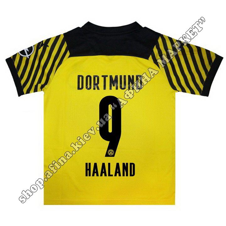 Нанесение имени, фамилии, номера на форму Боруссия Дортмунд 2021-2022