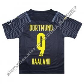 Нанесення імені, прізвища, номера на форму Боруссія Дортмунд 2021-2022 Away
