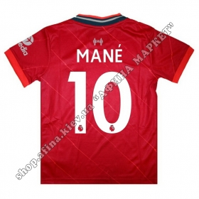 Нанесение имени, фамилии, номера на форму Ливерпуль 2022 Home
