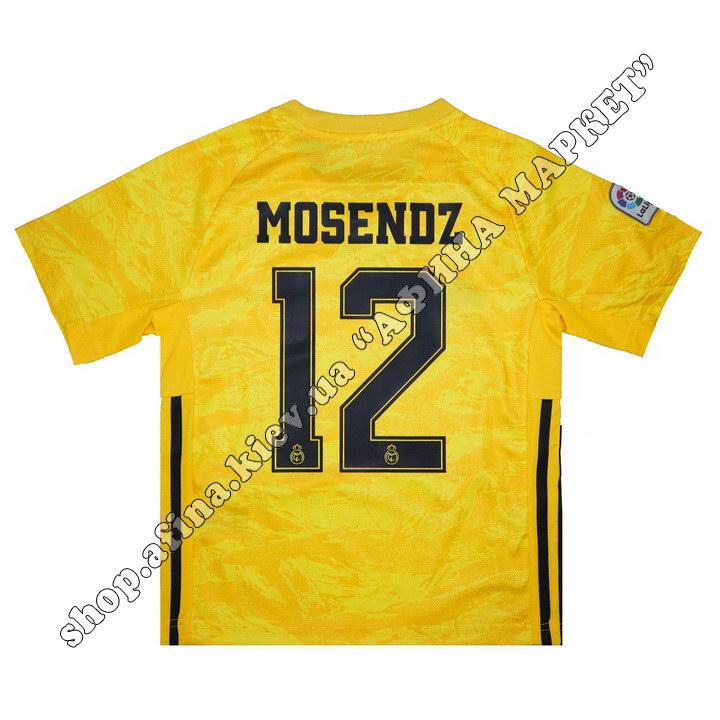 Нанесение имени, фамилии, номера, шрифт Реал Мадрид 2020 108815