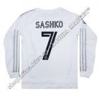 Нанесение имени, фамилии, номера, шрифт Реал Мадрид 2020-2021