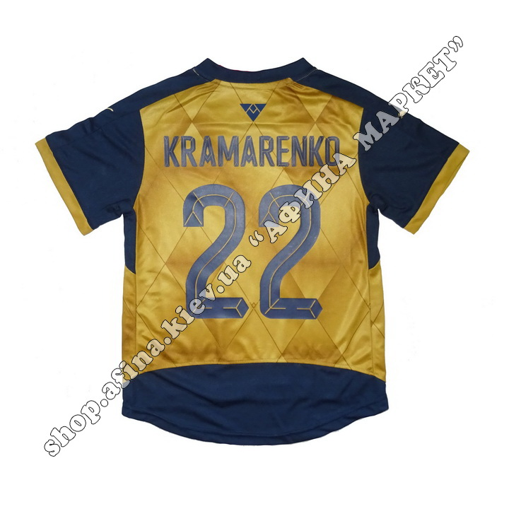 Нанесение имени, фамилии, номера, шрифт Арсенал 2015-2016, флекс 1 цвет (5034)