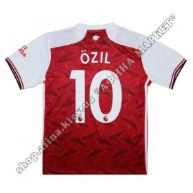 Нанесение имени, фамилии, номера на форму Арсенал 2020-2021