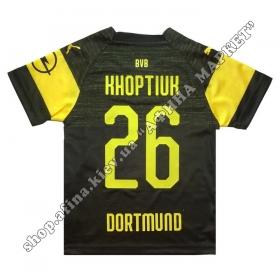 Нанесение имени, фамилии, номера на форму Боруссия Дортмунд
