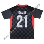 Нанесение на форму имени, фамилии, номера, шрифт Ливерпуль 2021