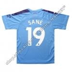 Нанесение имени, фамилии, номера, шрифт Манчестер Сити 2019-2020
