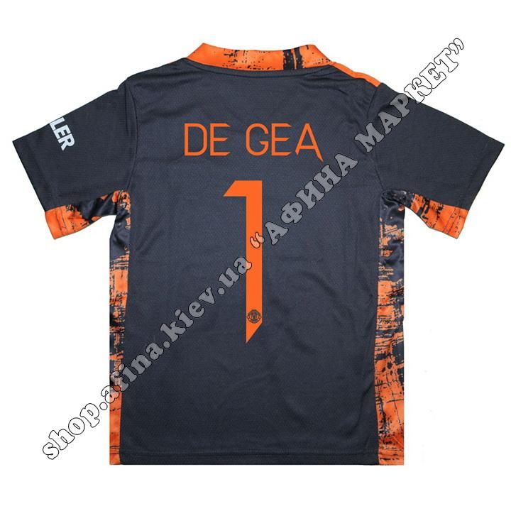 Нанесення імені, прізвища, номера, шрифт Манчестер Юнайтед 20-21