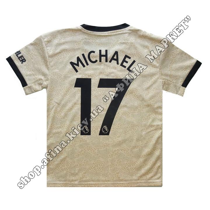 Нанесение имени, фамилии, номера, шрифт Манчестер Юнайтед 2020 51769